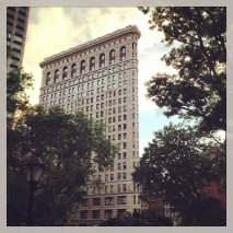 Took an inside tour of the Flat Iron Building.