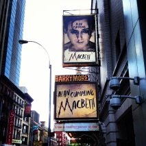 Made time for a Shakespearean stop on Broadway.