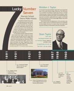 seven deans of yesteryear