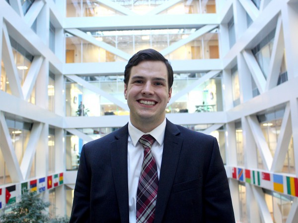 BYU sophomore Tanner Jones seeks create a business focusing on helping others have a better life. (Photo by Maude Lee)