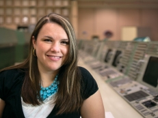 Gravity Check: Even rocket scientists need someone to keep them grounded. That responsibility falls to Michelle Curtis, a 2009 MPA alum and an analyst at NASA's Johnson Space Center.