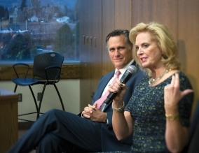 BYU MPA Celebrates Fifty Years: To mark this impressive milestone, members of George W. Romney's family, including former presidential nominee Mitt Romney, attended several events last November.