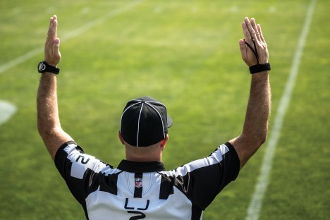 Bart Longson, a 1999 Marriott School grad, is one of the league's newest refs. And while his on-field accomplishments are impressive, Longson also has business chops to match.