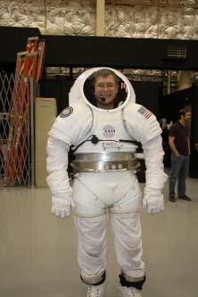 Watts in Space Suit