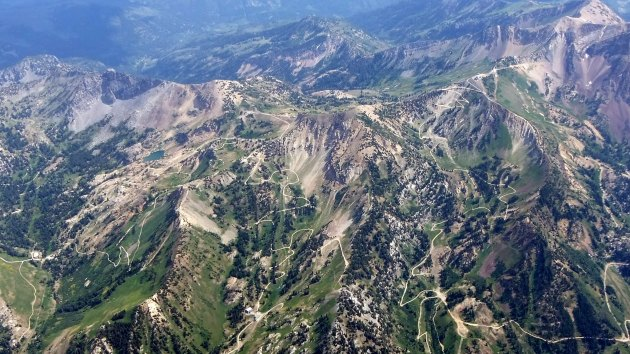 Snowbird and Alta ski resorts